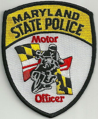 Maryland State Police Motorcycle Unit Patch