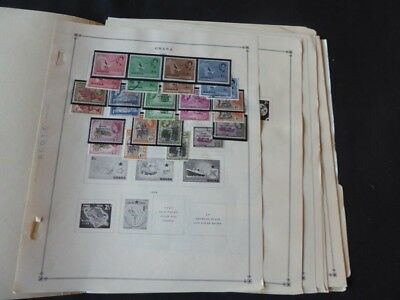 Ghana 1957-1967 Mint/Used Stamp Collection on Scott Intl Album Pages