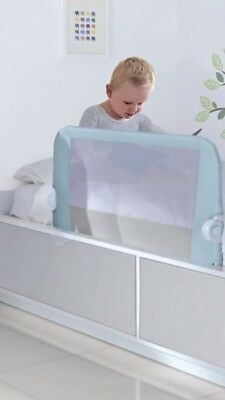 Lindam Easy Fit Bed Guard Toddler Kids Free Next Day Delivery Blue Pink Or Grey