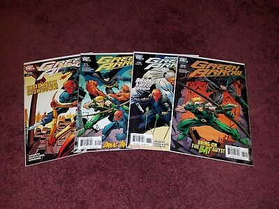 Green Arrow 69 70 71 72 Seeing Red Complete Batman Red Hood Jason Todd NM