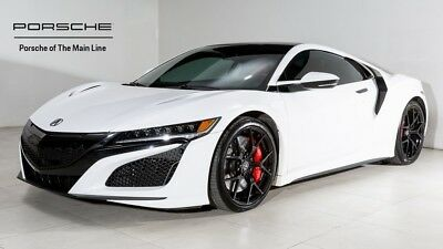 2017 NSX -- 2017 Acura NSX Base 13,699 Miles 130R White 2D Coupe V6 9-Speed