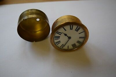 antique small  clock movement escapement platform