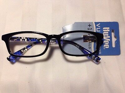 Hy-Vee VUE Fashion Readers Reading Glasses RORY+1.25