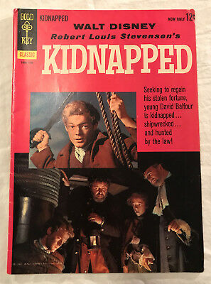 Kidnapped 1101 (1960) Gold Key 4 Color 6.5-7.0 comic book