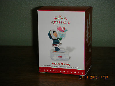 2015 Hallmark Ornament ~FROSTY FRIENDS ~ 36TH IN THE SERIES.               (2017
