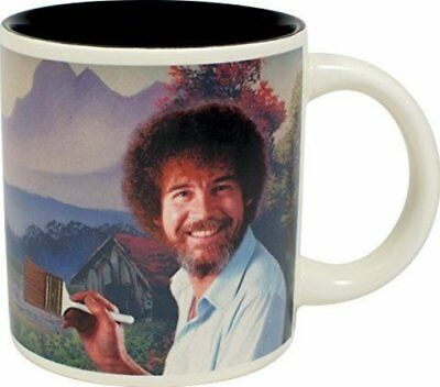 Bob Ross: Self-Painting Mug