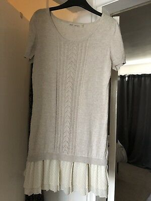 Next Fine Knitted Tunic Dress Size 12