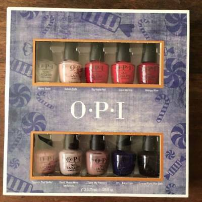 OPI Holiday 2018  Mini Nail Polish Set 10 x 3.75ml New in Box