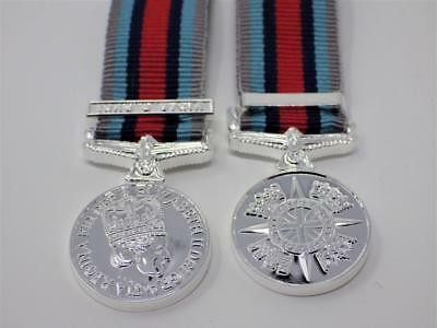 Op Shader Iraq & Syria Operational Service Miniature Medal With Clasp ( Osm )