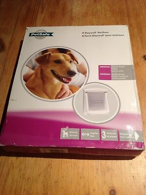 Brand New Staywell Pet Dog Cat Door Medium 2 Way Petsafe Flap In Box