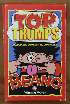 Top Trumps - Beano - Rare Winning Moves Playaday Promo Edition - New & Sealed