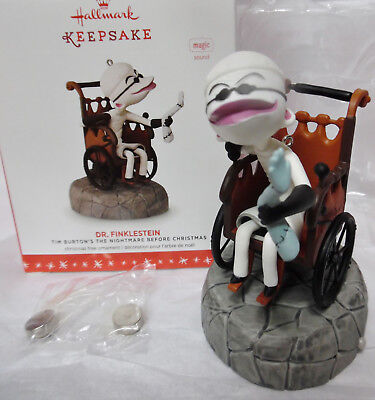 Hallmark 2016 DR FINKLESTEIN Tim Burton The Nightmare Before Christmas NEW