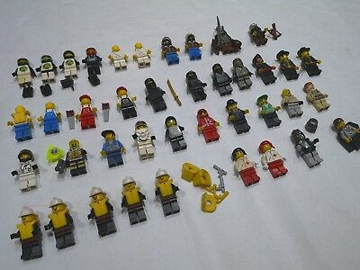 LEGO minifigures bundle vintage job lot 40 minifigs CITY, Harry Potter, Ninja