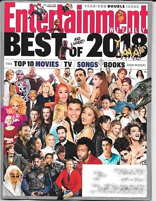 Entertainment Weekly - December 14-21, 2018 - Double Issue BEST & WORST OF 2018