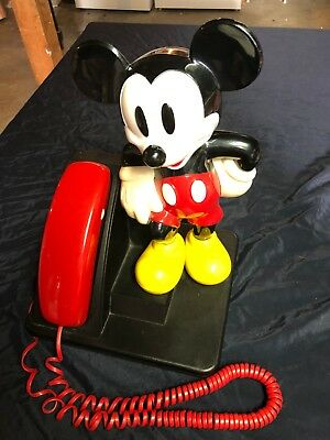 Mickey Mouse Push Button Telephone from 1992, perfect condition