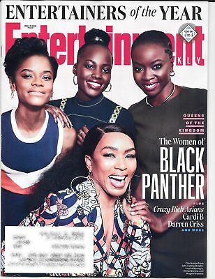 Entertainment Weekly - December 7, 2018 - The WOMEN of BLACK PANTHER