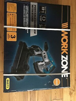Workzone by Scheppach MBS 1100 240V Portable Band saw 1100W  3 Yrs Guarantee