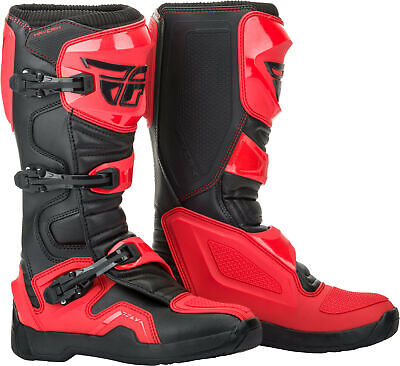 Fly Racing 2019 Maverick Boots 7 Red/Black 364-67307