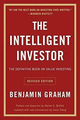 The Intelligent Investor: The Definitive Book on Value Investing. A Book of