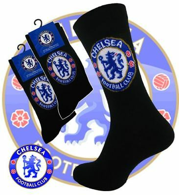 Size 4-6.5 Official Chelsea FC Socks Junior