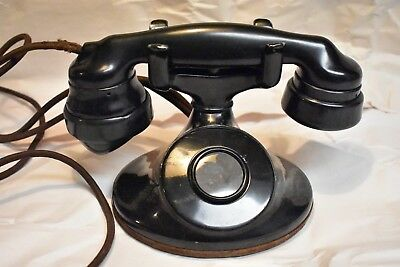 Western Electric D1 Aluminum Telephone with Seamless Bullet E1 handset