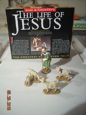 KING & COUNTRY LOJ009 Life of Jesus Shepherd and flock Retired with Box