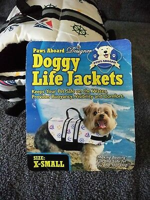Paws Aboard Doggy Life Jacket in Yellow, X-Small