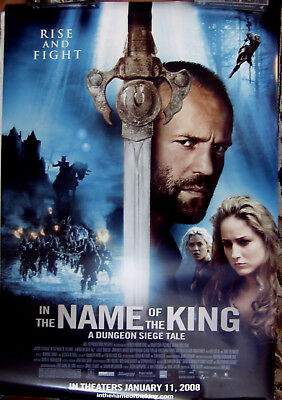 "In The Name Of The King 27"" X 40""  One Sheet Original Movie Poster Made In 2008"