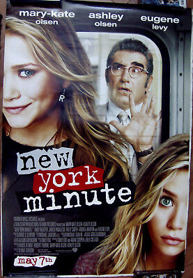 "New York Minute 27"" X 40""  One Sheet Original Movie Poster Made In 2004"