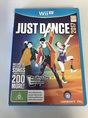 Brand New Nintendo WiiU Wii U Just Dance 2017 Video Game Dancing Fun