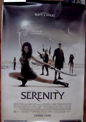 "Serenity 27"" X 40"" One Sheet Original Movie Poster Made In 2005"
