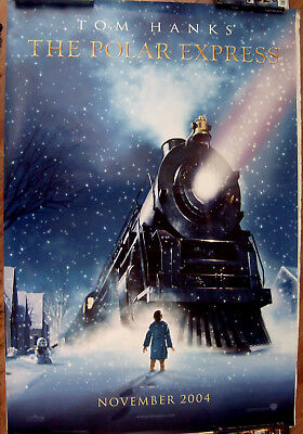 "The Polar Express (Cast) 27"" X 40"" One Sheet Original Movie Poster Made In 2004"