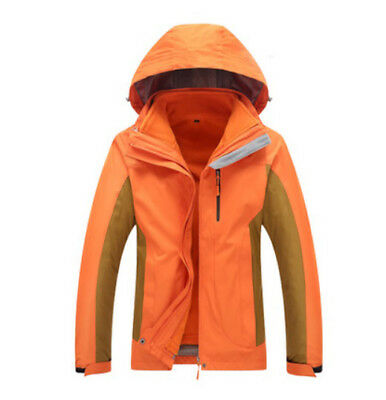 D93 Women Lady Orange Ski Snow Snowboard Winter Waterproof Jacket 6 8 10 12  14 3ef9baa3c