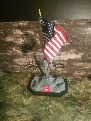 K  911 Display Base For Fire Zone 12 Inch FDNY Dolls