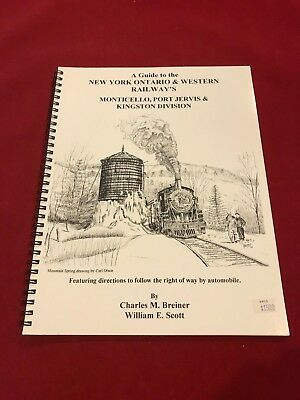 New York Ontario Western Monticello, Port Jervis & Kingston Division