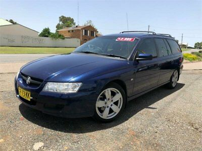 2005 Holden Commodore VZ Executive Blue Automatic A Wagon