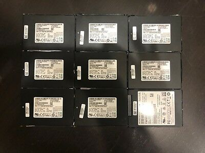 LOT OF 9 SAMSUNG CM871a MZ-7LN256D 256GB SSD SOLID STATE HARD DRIVES PM871
