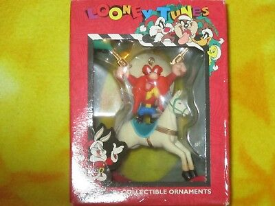 "Vintage Yosemite Sam Looney Tunes  4""  Ornament  1996 Matrix  In Box Christmas"