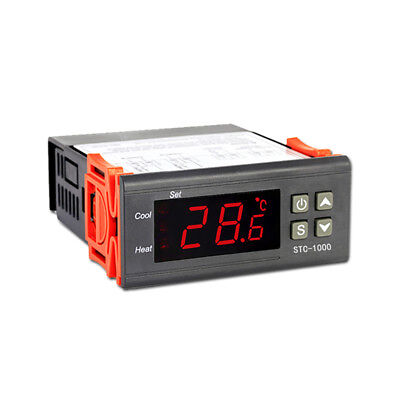 12V//24V//110V//220V Mini Digital Temperature Controller STC-1000 Thermostat W1I4Q
