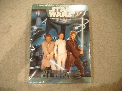 Star Wars Attack Of The Clones Trading Card Game Sealed Wizards Of The Coast