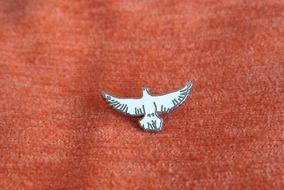 20482 Pin's Pins Oiseau Bird White Dove Pigeon