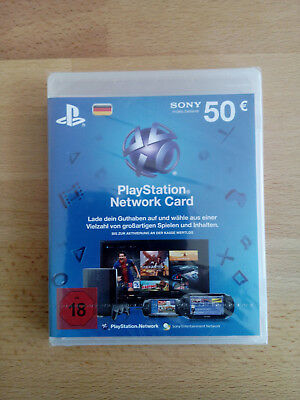 PlayStation Network Card 50 Euro (PSN PS3 PS4)