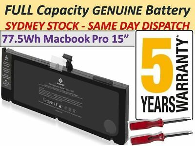 "OEM A1382 Battery For Apple MacBook Pro 15"" early late 2011 Mid 2012 Series"