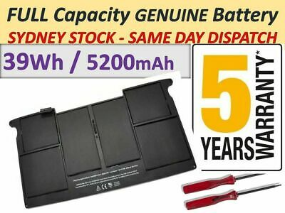 """A1406 A1495 Battery for Apple Macbook Air 11"""" A1465 A1370 2011 2012-2015 +Tools"""
