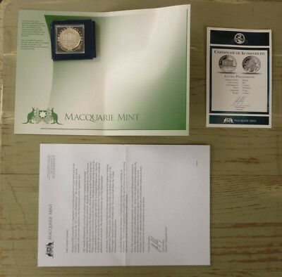 Macquarie Mint Commemorative Proof Sterling Silver Coin, Austria Philharmonic
