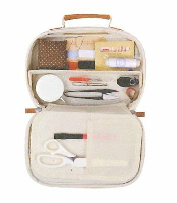 Misasa Mass support Ptolemy sewing kit craft bag type No.7874 navy