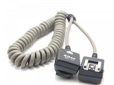 Excellent+++ Nikon SC-17 TTL Remote Cord Flash Cable for Speed lights Japan