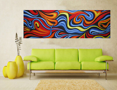 Art Painting Original Abstract canvas Landscape Australia By Jane Crawford