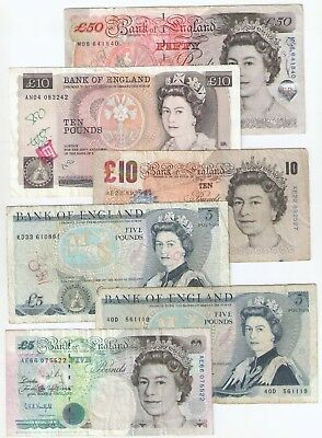 Great Britain (England) 85 Pounds Lot