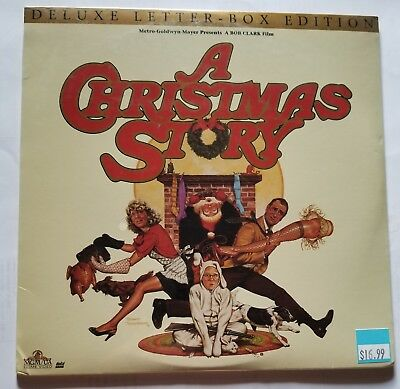 A Christmas Story - Deluxe Letterbox Edition Laserdisc -SEALED-